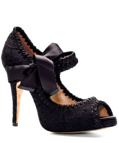 Betsey Johnson #shoes If I were to wear high heals on an everyday basis without being over 6 feet tall, these would be the ones.