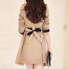 Belted Wrest Women Trench Coat - Daisy Dress For Less - 4