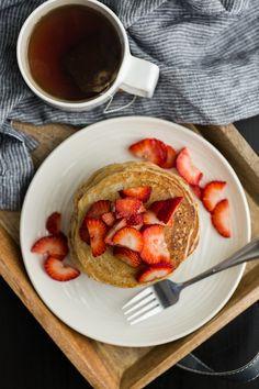 Buttermilk Spelt Pancakes   @naturallyella