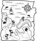Pirates Coloring Pages & Pirate Crafts --- good link