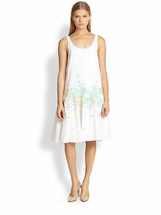 Suno - Drop-Waist Tank Dress - Saks.com