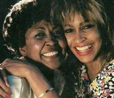 Tina and mother, Zelma Bullock