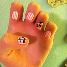Sigma nails!!! i am so doing this next time i do my nails :)