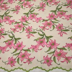 6424ebf78 Tecido tule bordado flores rosa sachê - Maximus Tecidos | Loja Online