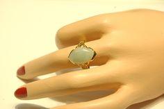 14KT Jade Ring