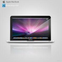 MacBook – Free PSD