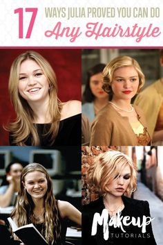 17 Ways Julia Stiles Hairstyles Prove We Can Slay Any Hairdo | Hairstyle Ideas by Makeup Tutorials at http://makeuptutorials.com/17-ways-julia-stiles-hairstyles-prove-we-can-slay-any-hairdo/