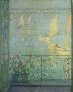 The Window at Croisic, 1924, Private Collection Henri Le Sidaner See archive for more: HERE