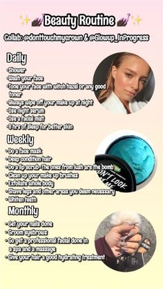 Beauty skin care routine - Skin Care Tips Are you searching for the most effective, proven skin care tips Pro tips coming from the top cosmetic dermatologists to help get the fresh, glowing skin tone that you have truly wishe Skin Tips, Skin Care Tips, Face Care Tips, Beauty Care, Beauty Skin, Diy Beauty, Beauty Ideas, Homemade Beauty, Beauty Guide