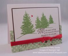 Scenic Season Swap Card by LaLatty - Cards and Paper Crafts at Splitcoaststampers