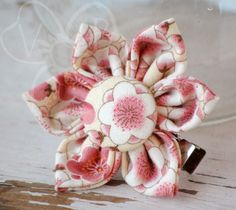 Buy directly from the world's most awesome indie brands. Flower Hair Clips, Flowers In Hair, Blossom Flower, Cherry Blossom, Diy Ideas, Craft Ideas, Kanzashi Flowers, Handmade Hair Accessories, Girls Rules
