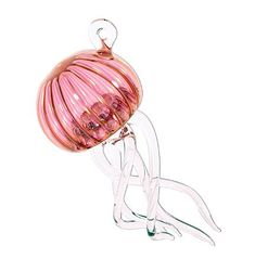 Jellyfish Glass Ornament 24k Goldfumed * Find out more about the great product at the image link.