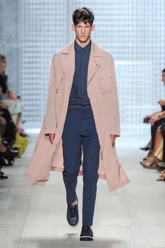 Spring-Summer 2014 Show (Photo credit: Lacoste/Yannis Vlamos) Latest Mens Fashion, Fashion News, Fashion Show, Fashion Trends, Lacoste, Men's Collection, Spring Summer, Spring 2014, Summer 2014