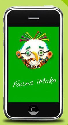Fun with Hanoch Piven's The Faces iMake app - Ogle Elem. Library