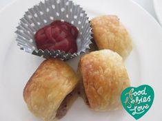 Pork and Apple Sausage Rolls - Food Babies Love