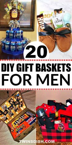 Diy Father's Day Gift Baskets, Valentines Day Baskets, Fathers Day Gift Basket, Valentine's Day Gift Baskets, Boyfriend Gift Basket, Valentine Gifts For Husband, Birthday Gift Baskets, Birthday Gifts For Husband, Valentines Gifts For Boyfriend