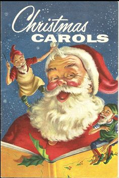 Vintage Christmas Carol Book
