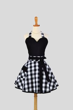 Flirty Pinup Sweetheart Apron