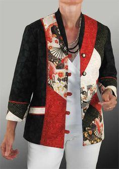Yin Yang Jacket Pattern BSS-158