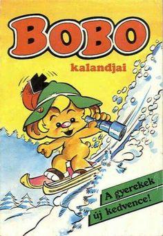 Bobo kalandjai - retro - képregény újság