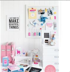 Kikki k creative workspace
