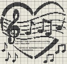 Thrilling Designing Your Own Cross Stitch Embroidery Patterns Ideas. Exhilarating Designing Your Own Cross Stitch Embroidery Patterns Ideas. Cross Stitch Pattern Maker, Counted Cross Stitch Patterns, Cross Stitch Designs, Cross Stitch Embroidery, Embroidery Patterns, Cross Stitch Music, Cross Stitch Boards, Cross Stitch Heart, Crochet Music
