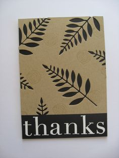 Thank You Card   by hamish doodle