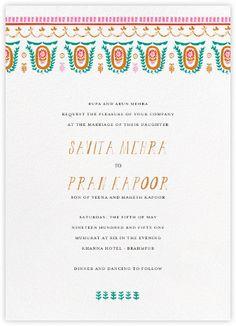 Miss Anupama (Invitation) - Paperless Post