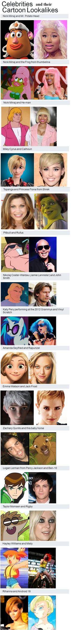 Celebrities...