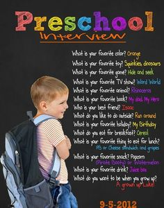 Pre-k time capsule. Interview the student at the beginning and end of year. Preschool Learning Activities, Preschool At Home, Preschool Lessons, Preschool Kindergarten, Preschool Pictures, Preschool Routine, Preschool Readiness, Preschool Assessment, Toddler Learning