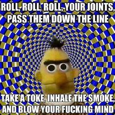 TAKE A TOKE, INHALE THE SMOKE