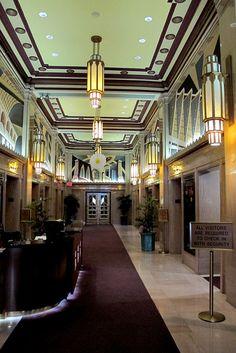 [ Art Deco ] Atlantic Building - art deco murals by PlanPhilly Art Deco Decor, Art Deco Stil, Art Deco Home, Art Deco Design, Design Design, Architecture Art Nouveau, Beautiful Architecture, Art And Architecture, Architecture Details
