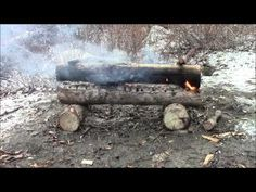 ▶ Make A Campfire Last All Night -- Follow up - YouTube
