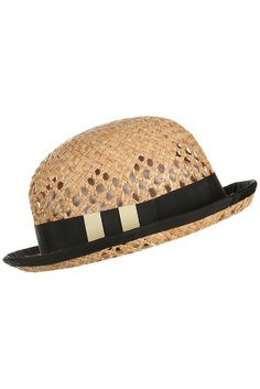 curved bowler hat