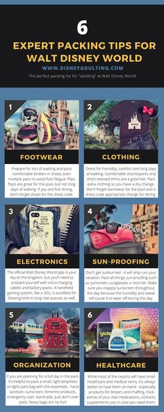 What is a good Walt Disney World packing checklist? | An expert-level guide and infographic on the perfect Walt Disney World packing checklist that will ensure you have the best trip possible.
