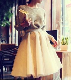 Ballerina skirt with jumper
