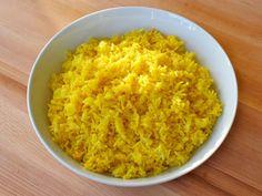 Saffron Rice - A Fragrant Savory Side Dish