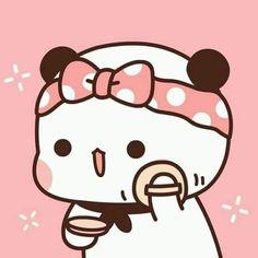Cute Love Pictures, Cute Love Gif, Cute Cat Gif, Cute Images, Cute Couple Cartoon, Cute Cartoon Pictures, Cute Love Cartoons, Cute Bear Drawings, Kawaii Drawings