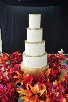Black And White Wedding Cakes Ideas ★ black and white wedding cakes big white cake in flowers