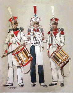 Tamburi della fanteria polacca