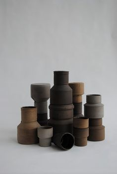 Ceramic vases from Maukstudio