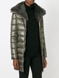 Herno Fur Trimmed Padded Coat - Spinnaker 101 - Farfetch.com