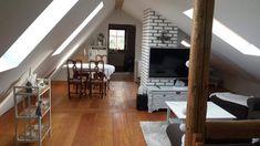 Oversized Mirror, Attic, Furniture, Home Decor, Loft Room, Decoration Home, Room Decor, Attic Rooms, Home Furnishings