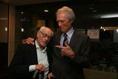 :)  Clint Eastwood and Eli Wallach