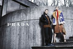 Pin for Later: We Can't Get Over How Stunning Marion Cotillard Looks in This Dior Ad Prada Fall 2014 Karl Kolbitz and Mica Arganaraz photographed by Steven Meisel. Photo courtesy of Prada
