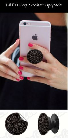 Chocolate Cookie | Snack Time Inspired | Pop Socket or Pop Socket Decal | Popsocket Sticker #oreo #popsocket #gift #accessories #iphone #android