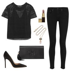 #OOTD | All-Black Outfit Inspiration on ShopStyle