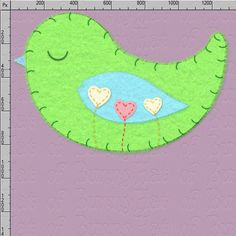 """The felt bird sticker is about 4"""" big for easy resizing.    Find at my Etsy shop: hatofbunny.etsy.com    Personal and commercial use OK!     http://www.tpt-fonts4teachers.blogspot.com/2013/01/san-valentines-day-free-clip-arts.html"""