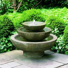 Free Shipping and No Sales Tax on the Platia Garden Water Fountain from the Outdoor Fountain Pros.