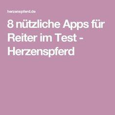 8 nützliche Apps für Reiter im Test - Herzenspferd